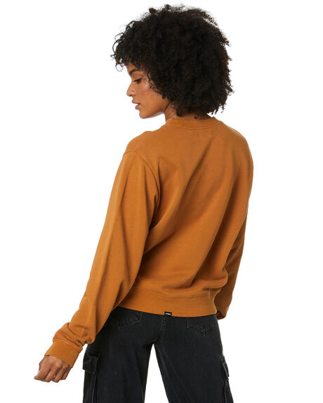 GOLDEN BROWN WOMENS CLOTHING THRILLS JUMPERS - WTS20-200CGLBRN