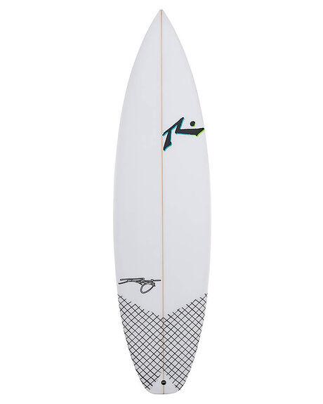 CLEAR SURF SURFBOARDS RUSTY PERFORMANCE - RUYESTHANKSCLR