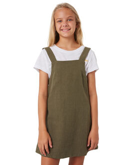 DARK ARMY KIDS GIRLS RUSTY DRESSES + PLAYSUITS - DRG0012DKA