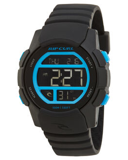 BLACK BLUE MENS ACCESSORIES RIP CURL WATCHES - A28690107