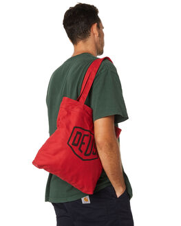 RED MENS ACCESSORIES DEUS EX MACHINA BAGS + BACKPACKS - DMP77431RED