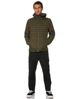 NEW TAUPE GREEN MENS CLOTHING THE NORTH FACE JACKETS - NF0A3Y3MXYW