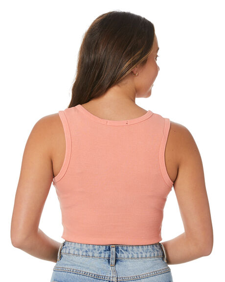 PEACH WOMENS CLOTHING ALL ABOUT EVE SINGLETS - 6464267PEAC