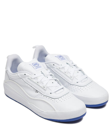 WHITE MENS FOOTWEAR ADIDAS SNEAKERS - EG2469WHT