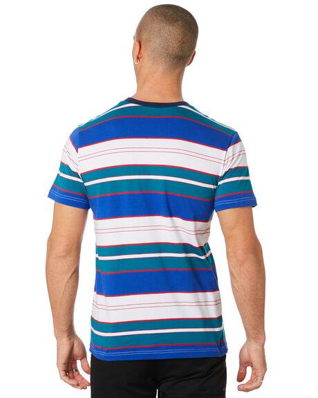 INSIGNIA BLUE MENS CLOTHING HUF TEES - KN00107-IABLU