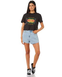 BLACK WOMENS CLOTHING INSIGHT TEES - 5000003207BLK