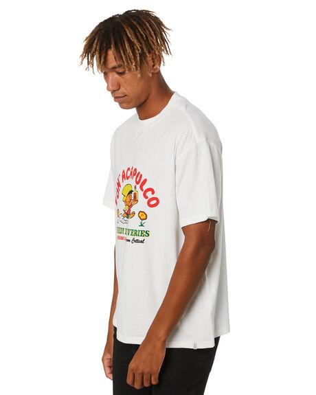 WHITE MENS CLOTHING THE CRITICAL SLIDE SOCIETY TEES - TE2030WHT
