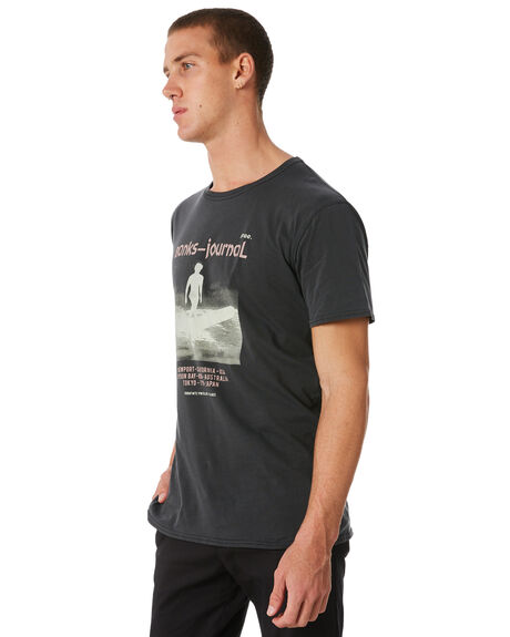 DIRTY BLACK OUTLET MENS BANKS TEES - WTS0256DBL