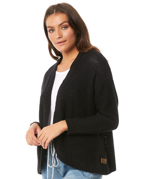 ANTHRACITE WOMENS CLOTHING ROXY KNITS + CARDIGANS - ERJSW03267KVJ0