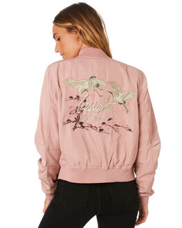 DUSTY PINK WOMENS CLOTHING INSIGHT JACKETS - 1000061260PNK