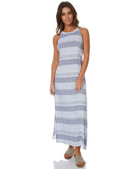 BLUE WOMENS CLOTHING RIP CURL DRESSES - GDREY1BLU
