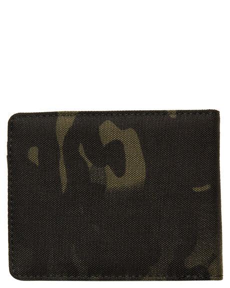 BLACK MULTICAM MENS ACCESSORIES NIXON WALLETS - C29653015