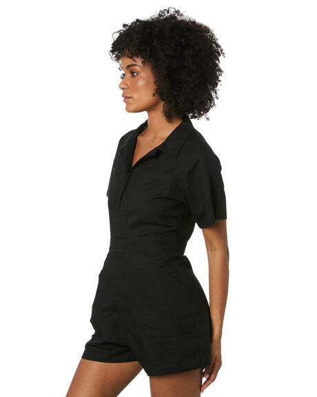 BLACK WOMENS CLOTHING THRILLS PLAYSUITS + OVERALLS - WTS20-950BBLK