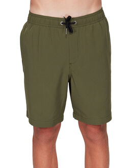 MILITARY KIDS BOYS BILLABONG SHORTS - BB-8592717-MIL