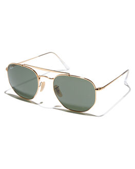 204859ddc2 GOLD GREEN MENS ACCESSORIES RAY-BAN SUNGLASSES - 0RB3648GLDGR