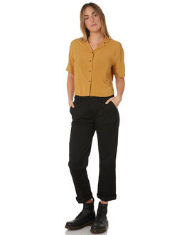 MAIZE WOMENS CLOTHING BRIXTON FASHION TOPS - 01160-MAIZE