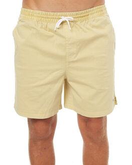 DIRTY YELLOW MENS CLOTHING STUSSY BOARDSHORTS - ST072616YEL