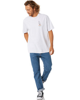 WHITE MENS CLOTHING PATAGONIA TEES - 38506WHI