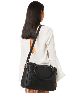 BLACK ROSE GOLD WOMENS ACCESSORIES STATUS ANXIETY BAGS + BACKPACKS - SA7634BKRS