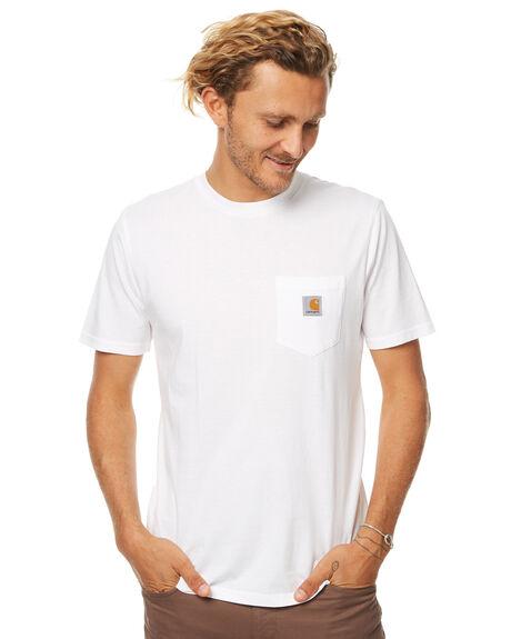 WHITE MENS CLOTHING CARHARTT TEES - IO220910200