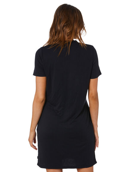 BLACK WOMENS CLOTHING SILENT THEORY DRESSES - 6063037BLK