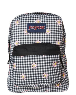GINGHAM DAISY WOMENS ACCESSORIES JANSPORT BAGS + BACKPACKS - JST501-JS54SGNG