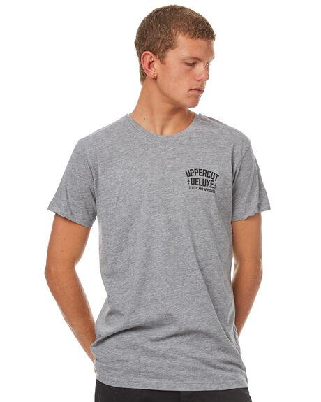 GREY MENS CLOTHING UPPERCUT TEES - UPDTS0329GRY