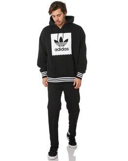 BLACK WHITE MENS CLOTHING ADIDAS JUMPERS - EC7323BLKWH