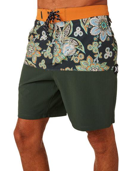 OUTDOOR GREEN MENS CLOTHING HURLEY BOARDSHORTS - AQ9985346