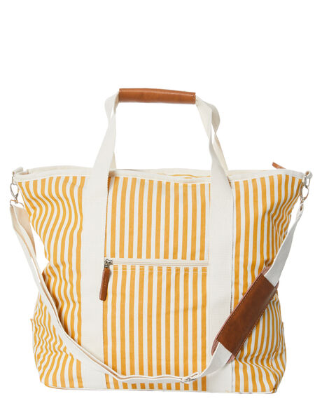 VINTAGE GOLD STRIPE WOMENS ACCESSORIES BUSINESS AND PLEASURE CO BAGS + BACKPACKS - BPA-CBB-LAU-GLD