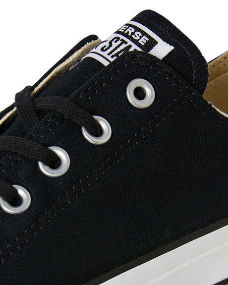 BLACK GARNET WOMENS FOOTWEAR CONVERSE SNEAKERS - 560250CBLK