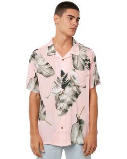 PINK MENS CLOTHING STUSSY SHIRTS - ST073408PINK