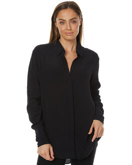 BLACK WOMENS CLOTHING THE FIFTH LABEL FASHION TOPS - TX170438TBLK