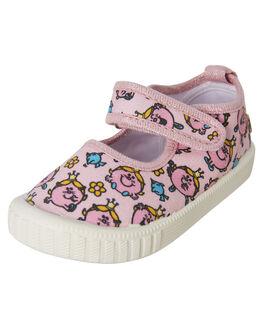 PINK KIDS GIRLS WALNUT FOOTWEAR - MMCLASSICMJPINK
