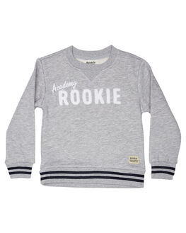 GREY MARLE KIDS BOYS ROOKIE BY THE ACADEMY BRAND JUMPERS + JACKETS - R19W520GRYM