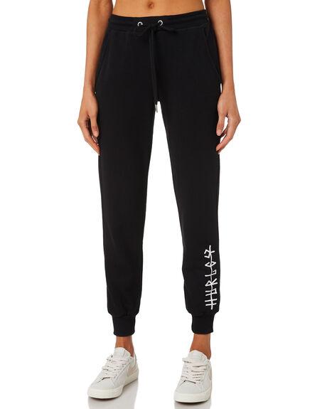 BLACK WOMENS CLOTHING HURLEY PANTS - AGPTIC19010