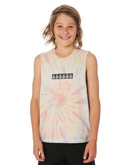 MULTI KIDS BOYS VOLCOM TOPS - C3741974MLT