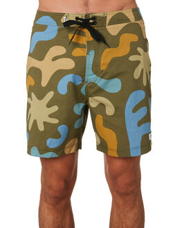 COMBAT MENS CLOTHING BANKS BOARDSHORTS - BS0173CMBT