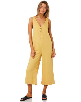 TURMERIC WOMENS CLOTHING RHYTHM PLAYSUITS + OVERALLS - OCT18W-JS04TUR
