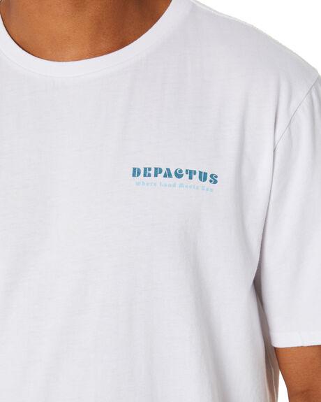 WHITE MENS CLOTHING DEPACTUS TEES - D5212003WHITE