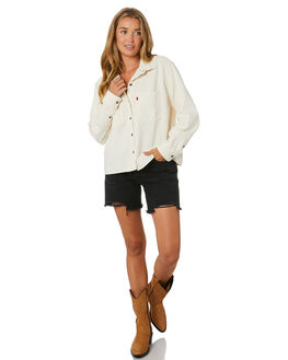 ICY ECRU WOMENS CLOTHING LEVI'S FASHION TOPS - 85368-0002ICY