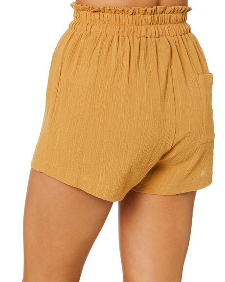 HONEY MUSTARD WOMENS CLOTHING SWELL SHORTS - S8221231HNYMD