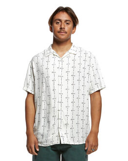 ANTIQUE WHITE MENS CLOTHING QUIKSILVER SHIRTS - EQYWT03875-WCL6