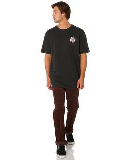 BLACK MENS CLOTHING VOLCOM TEES - A4331907BLK