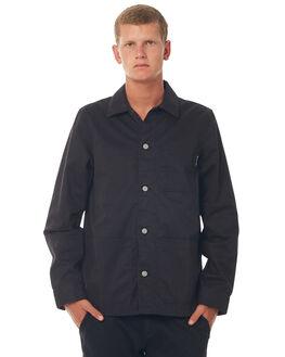 BLACK MENS CLOTHING DC SHOES JACKETS - EDYJK03154KVJ0