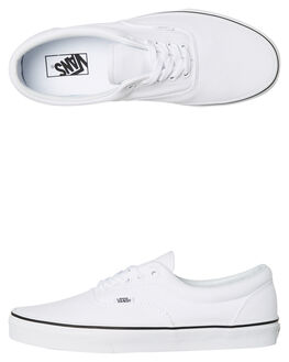 TRUE WHITE WOMENS FOOTWEAR VANS SNEAKERS - SSVN-0EWZW00TWHTW