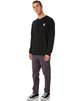 BLACK MENS CLOTHING SWELL JUMPERS - S5184459BLACK