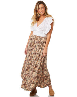 LEOPARD FLORAL WOMENS CLOTHING O'NEILL SKIRTS - 4821105LDF