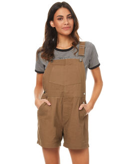 TAN WOMENS CLOTHING RPM PLAYSUITS + OVERALLS - 7PWB04ATAN