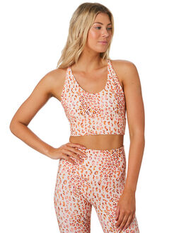 LEOPARD WOMENS CLOTHING LORNA JANE ACTIVEWEAR - WS1019202LEO